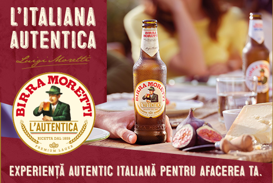 O experienţă autentic italiană pentru afacerea ta!
