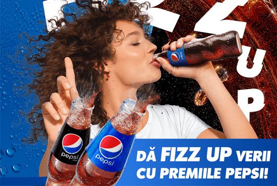Dă FIZZ UP verii cu premiile Pepsi!