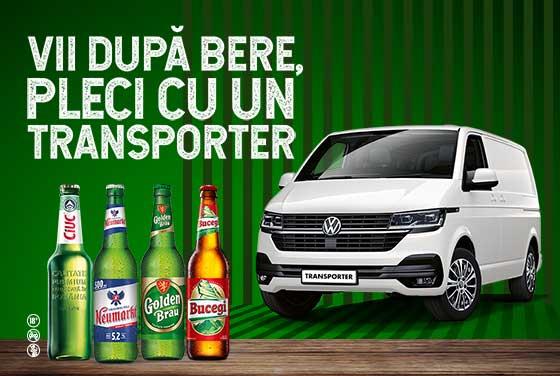 Vii după bere, pleci cu un Transporter