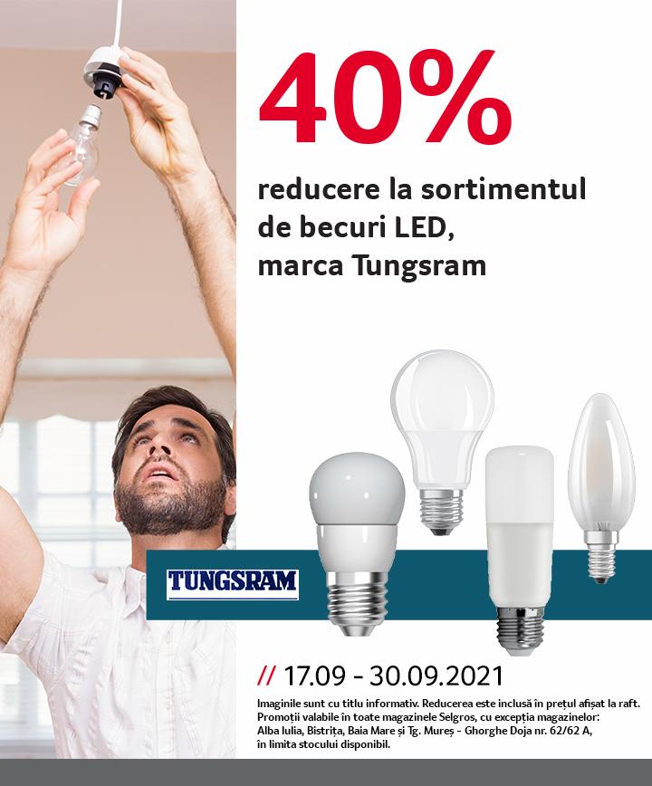 Reducere becuri LED Tunsgram