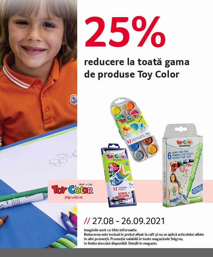 reducere Toy Color scoala