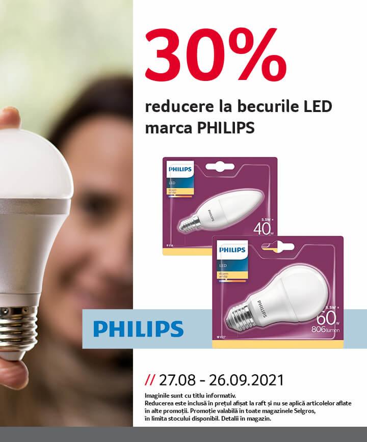becuri LED Philips